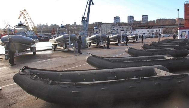 米国、ウクライナ海軍へ複合艇等供与