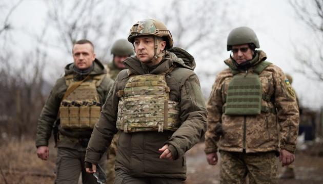 Zelensky leaves for eastern Ukraine