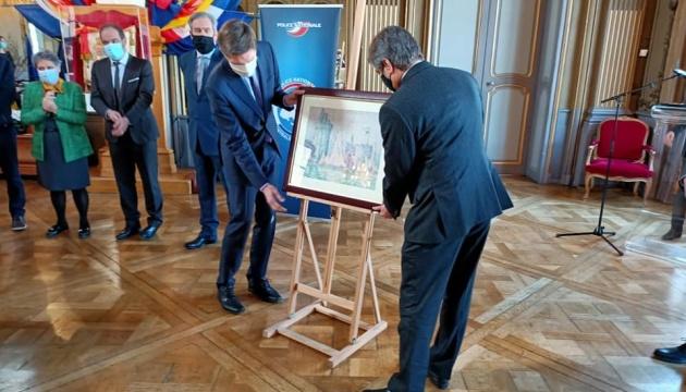 Україна передала Франції картину, викрадену у 2018 році з музею у Нансі