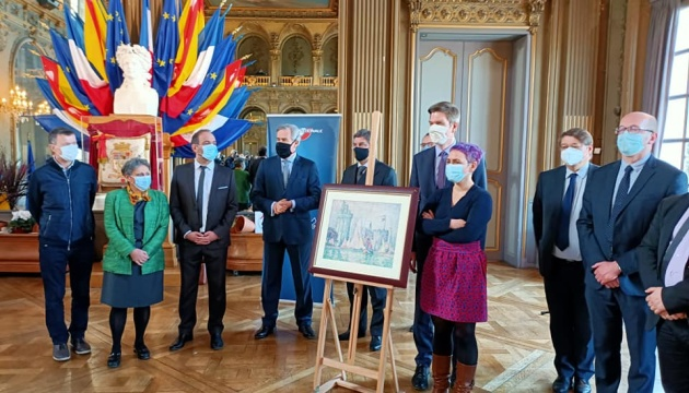 Украина передала Франции картину, похищенную в 2018 году из музея в Нанси