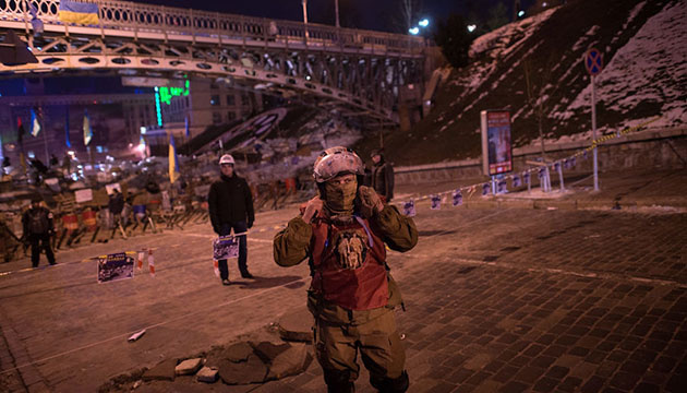 Революция Достоинства: майдановцы решили не уходить из Дома профсоюзов