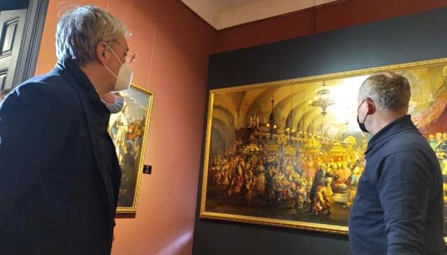 Костел капуцинів та галерею Возницького у Львові відкрили для відвідувачів - Ткаченко