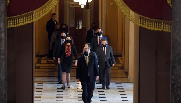 У Сенаті США відмовились від допиту свідків у рамках імпічменту Трампу