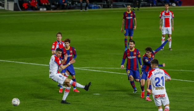 Ла Лига: «Барселона» разгромила «Алавес» и поднялась на второе место