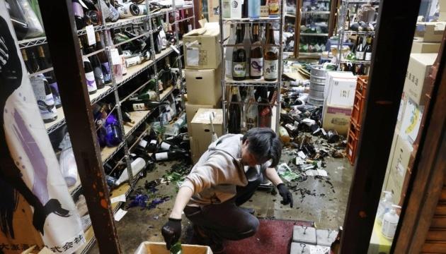 Землетрус у Японії: кількість постраждалих перевищила 120
