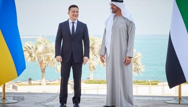 ゼレンシキー大統領、UAEを公式訪問 初日の結果