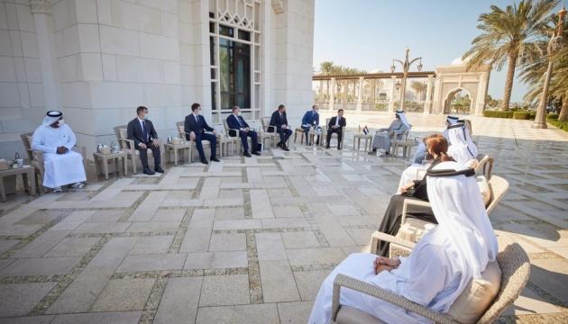 Під час візиту Зеленського до ОАЕ підписали низку двосторонніх документів