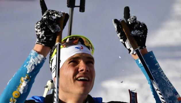 Француз Жаклен вдруге виграв персьют чемпіонату світу з біатлону; Прима - восьмий