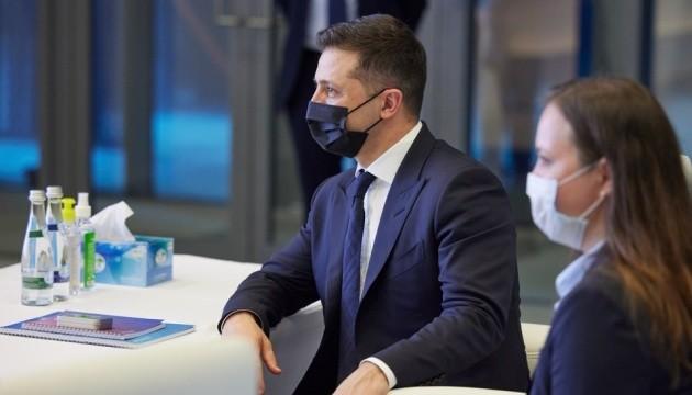 Зеленський обіцяє підтримку українському бізнесу, що працює в ОАЕ