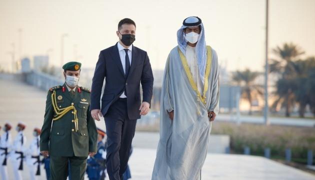 Перший день візиту Президента до ОАЕ став дуже насиченим та успішним - Мендель
