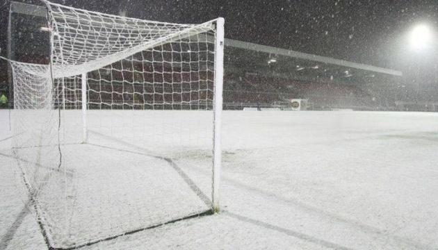Матч «Динамо» - «Брюгге» може не відбутися через сильні морози в Україні - ЗМІ