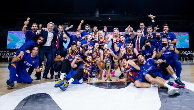 Артем Пустовой во второй раз выиграл Кубок Испании по баскетболу
