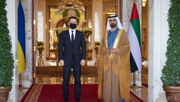 Зеленський зустрівся з прем'єром ОАЕ — про що говорили