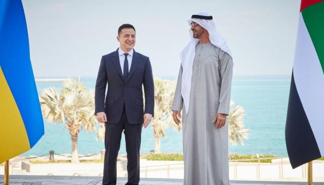 На Банковій назвали візит Зеленського в ОАЕ одним із найуспішніших