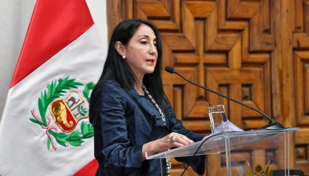 Очільниця МЗС Перу звільнилася через вакцинацію від COVID-19 позачергово