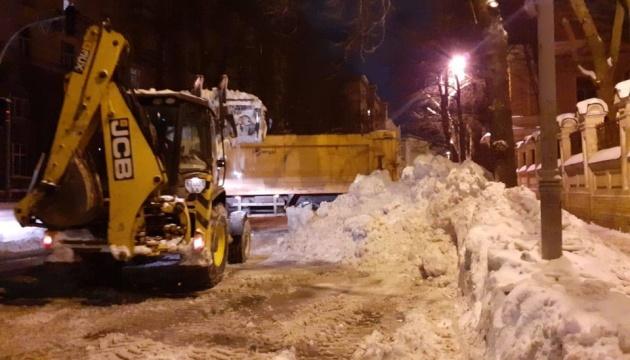 З Києва за добу вивезли понад 16 тисяч тонн снігу