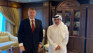 Ukraine, Qatar discuss transport and investment cooperation