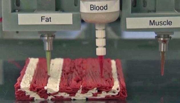 Ізраїльський стартап друкуватиме «м'ясо» на 3D-принтерах
