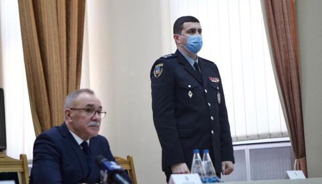 На Закарпатье представили нового руководителя полиции области