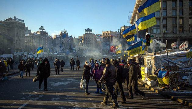 Самооборона Майдана установила блокпост на Грушевского