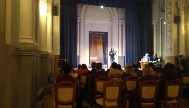 В Киеве презентовали украинский перевод книги «Байракдар» о войне в Карабахе