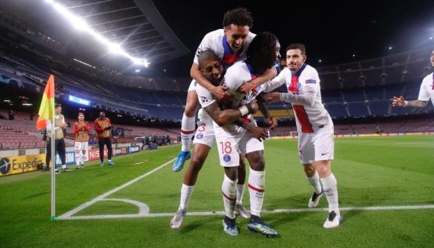 «Барселона» крупно уступила «Пари Сен-Жермен» в Лиге чемпионов УЕФА