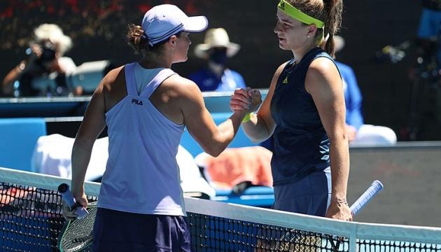 Перша «ракетка» світу програла у чвертьфіналі Australian Open