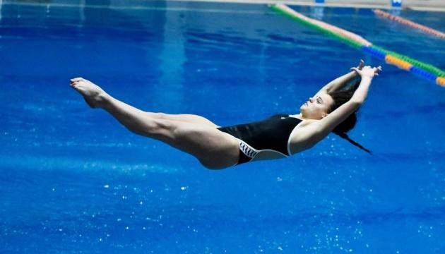 Анна Арнаутова одержала третью победу на открытом Кубке Украины по прыжкам в воду