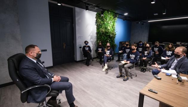 Єрмак зустрівся зі студентами — в ОП відновлять програму стажувань