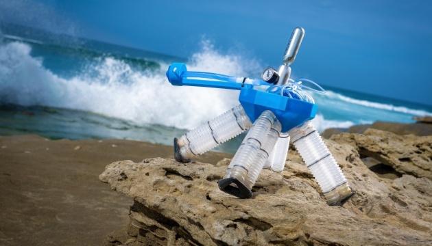 У США розробили «робота-черепаху», який живиться стиснутим повітрям