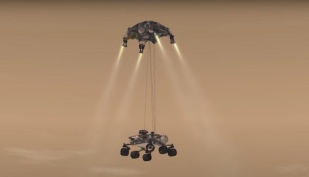 Марсохід NASA із «генератором кисню» здійснює посадку на Червону планету