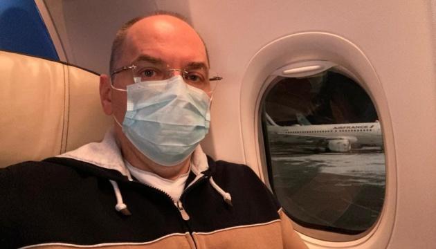 Степанов вилетів до Індії на перемовини з виробником вакцин Serum Institute