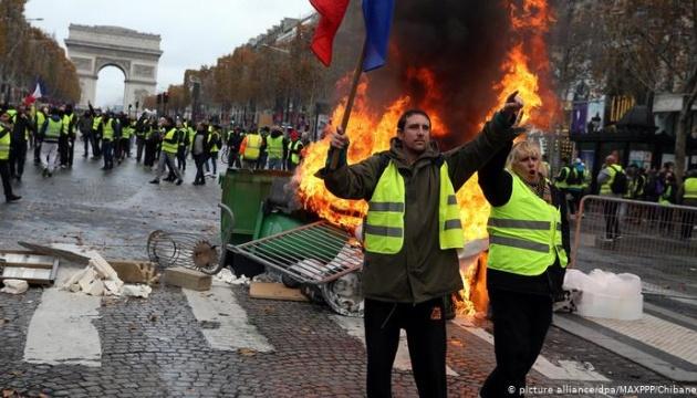 """Протесты """"желтых жилетов"""" и доктрина Макрона о безопасности ЕС. Полный разбор"""