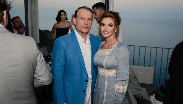 РНБО застосувала санкції до Медведчука та його дружини