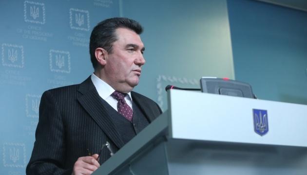 Данілов розповів, скільки тривала підготовка санкцій проти Медведчука