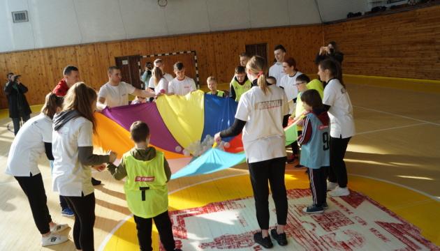 На Волыни организовали футбольный праздник для особенных детей