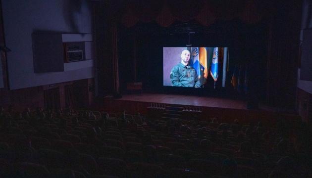 В Киеве состоялся допремьерный показ фильма «Позывной Итальянец» о нацгвардейце Маркиве