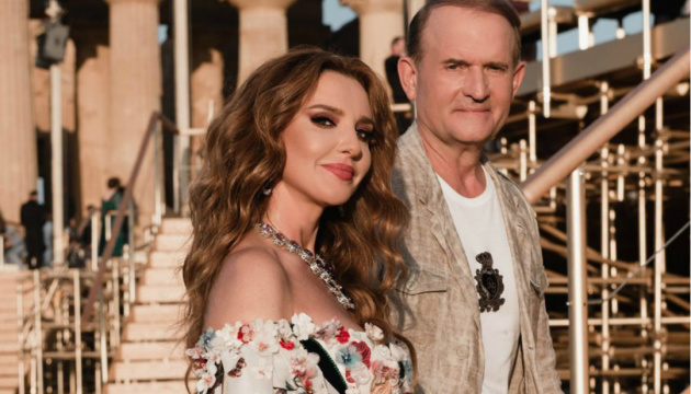 Nearly 60% of Ukrainians support sanctions against Medvedchuk, his wife
