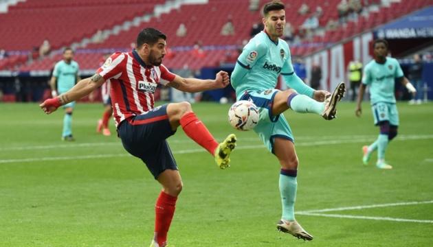 Ла Лига: «Атлетико» неожиданно проиграл «Леванте»