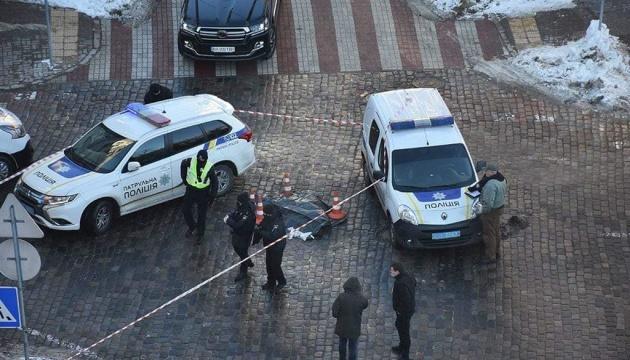 В Киеве арестовали водителя, подозреваемого в смертельном избиении пешехода