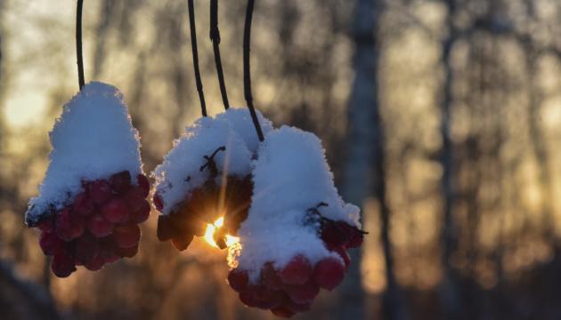 Україні прогнозують сніг та до 15° морозу