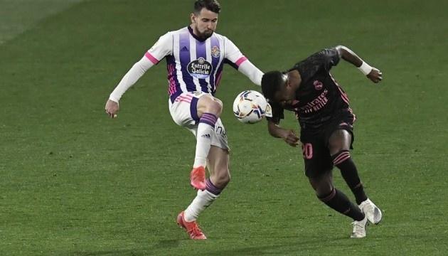 Ла Ліга: «Реал Мадрид» мінімально обіграв «Вальядолід»