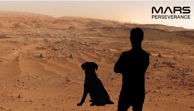 NASA предлагает желающим сделать фотографию на фоне марсианских пейзажей