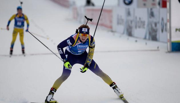 Підгрушна посіла 12 місце у мас-старті чемпіонату світу з біатлону