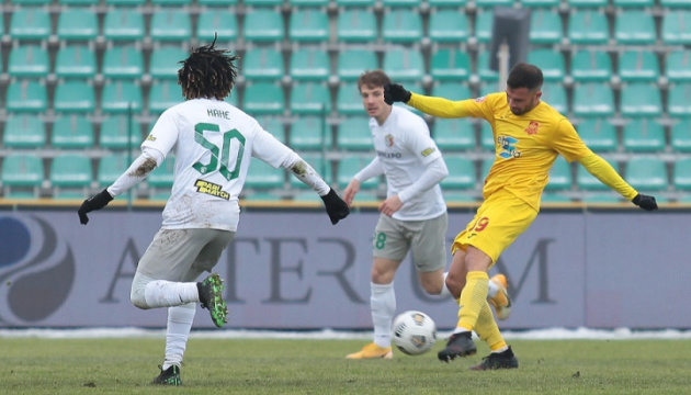 «Ингулец» отобрал очки у «Ворсклы» в матче футбольной Премьер-лиги