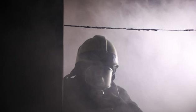 В Киеве горело общежитие университета им. Драгоманова