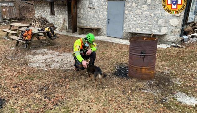 В Альпах врятували туриста, який сім діб провів у горах з поламаною ногою