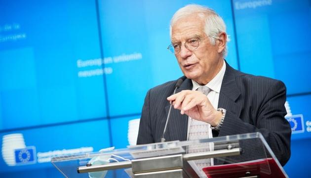 Borrell assures Kuleba of EU support for Ukraine