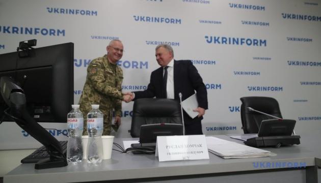 Спільна пресконференція Тарана та Хомчака в Укрінформі