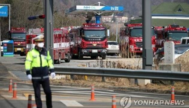 В Южной Корее пожары уничтожили 255 гектаров леса